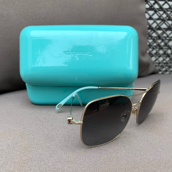 3eacc4f074a9 Tiffany & Co. Accessories | Tiffany Co Aviator Sunglasses | Poshmark
